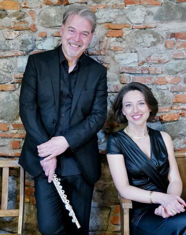 Il Soprano Silvia Capra ed il Flautista Paolo Zampini